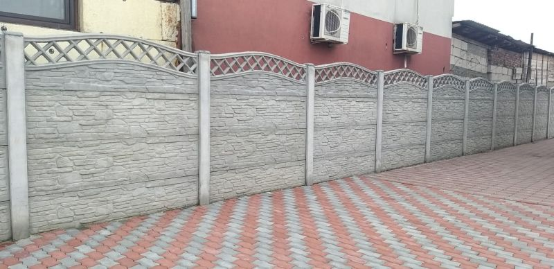 Garduri din placi de beton -1
