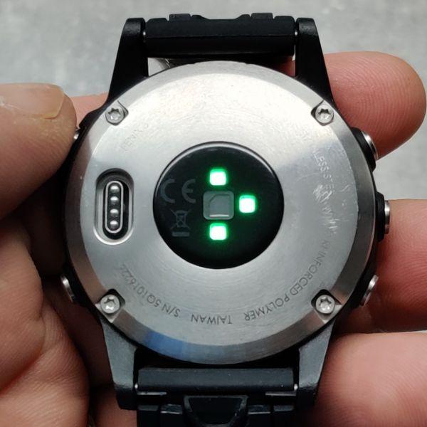 Garmin Fenix 5, HR, GPS, 2 curele rezerva, 6 luni garantie-2