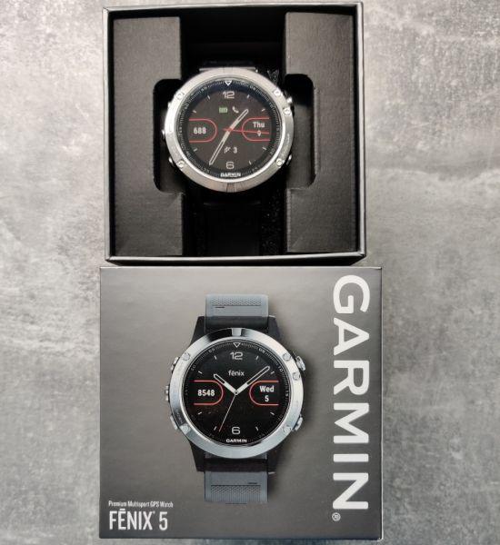 Garmin Fenix 5, HR, GPS, 2 curele rezerva, 6 luni garantie-5