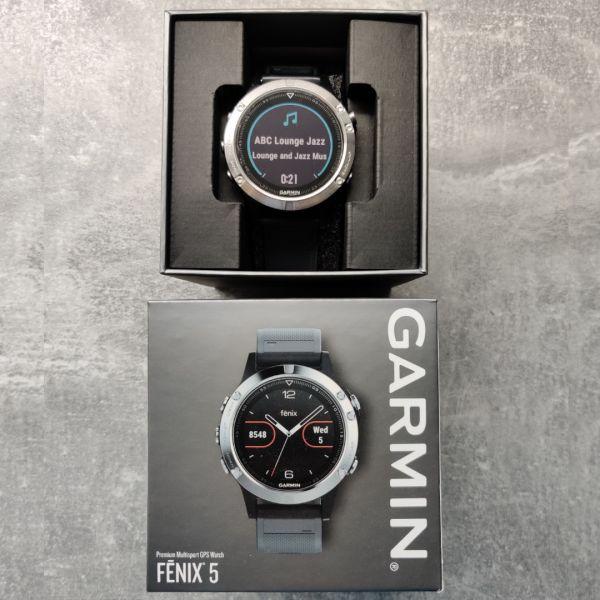 Garmin Fenix 5, HR, GPS, 2 curele rezerva, 6 luni garantie-6