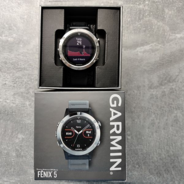 Garmin Fenix 5, HR, GPS, 2 curele rezerva, 6 luni garantie-9