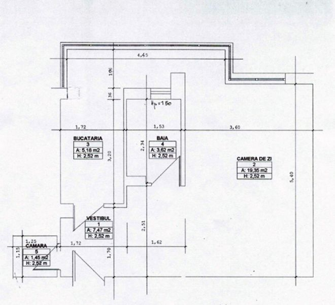 GARSONIERA STUDIO BANEASA - PARC HERASTRAU 42,7 MP - PROPRIETAR-2