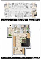 Garsoniere zona Militari Residence - Direct dezvoltator