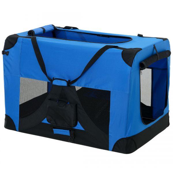 Geanta transport patruped - box XXL albastru regal-1