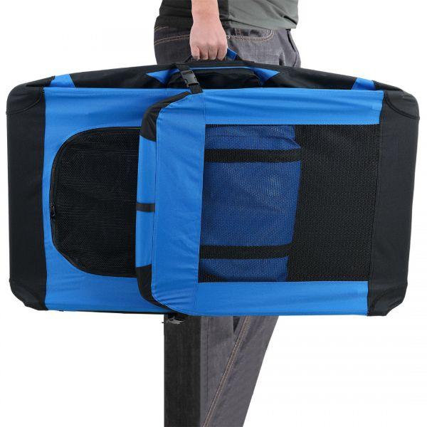 Geanta transport patruped - box XXL albastru regal-2