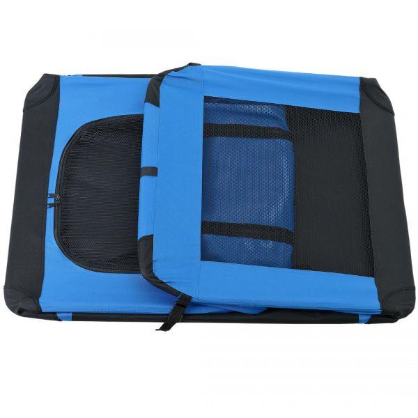 Geanta transport patruped - box XXL albastru regal-4