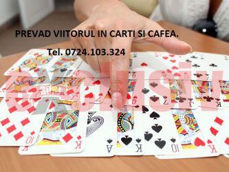Ghicit in carti normale si Tarot + cafea.
