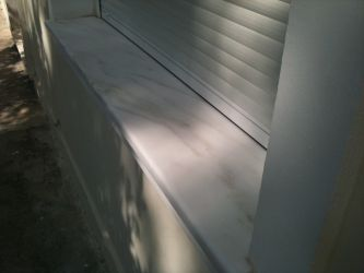 Glafuri exterior marmura medias