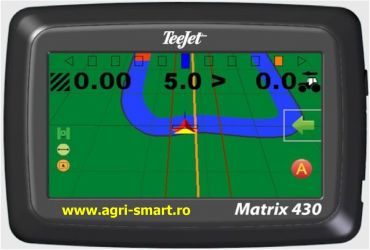 GPS agricol Matrix 430: ghidare si masurare suprafete