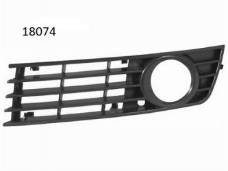 Grila bara fata cu locas proiector dreapta Audi A4 B6 00 - 04