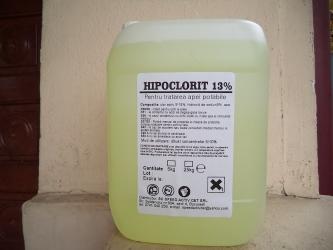 HIPOCLORIT DE SODIU 12,5 %