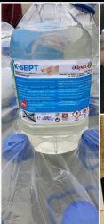 Igienizant pentru maini si suprafete K-SEPT  ambalaj 5l