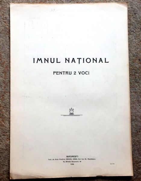Imnul National, 1908-1