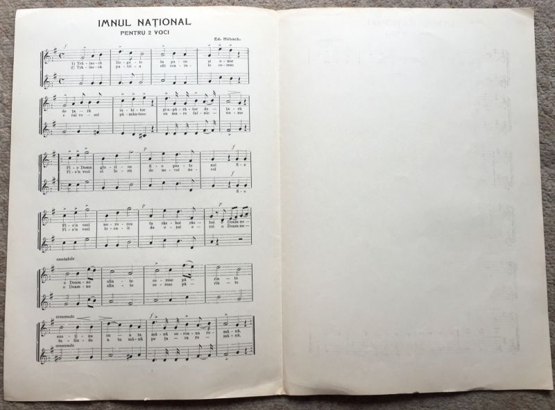 Imnul National, 1908-3
