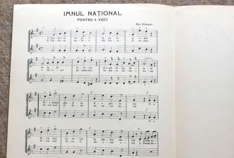 Imnul National, 1908-5