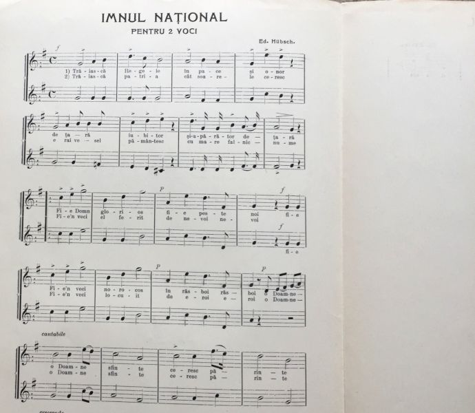 Imnul National, 1908-6