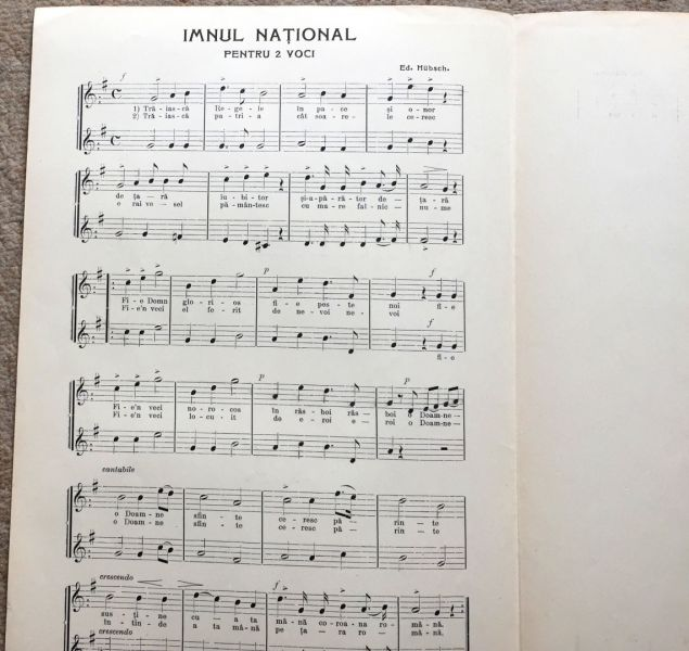 Imnul National, 1908-7