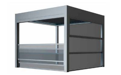 Închideri din sticlă Pentru spații care se pot utiliza în sezonul rece