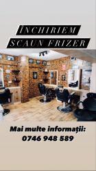 Inchiriem scaun frizer / angajam frizer cu contract de munca full time