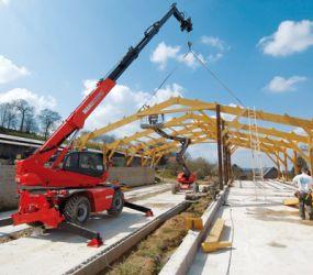 Inchiriere telehandler fix 17 metri Manitou Craiova