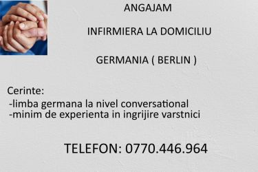 Infirmiera la domiciliu Germania-Berlin