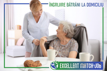 Îngrijitoare/Infirmiera Batrani la Domiciliu