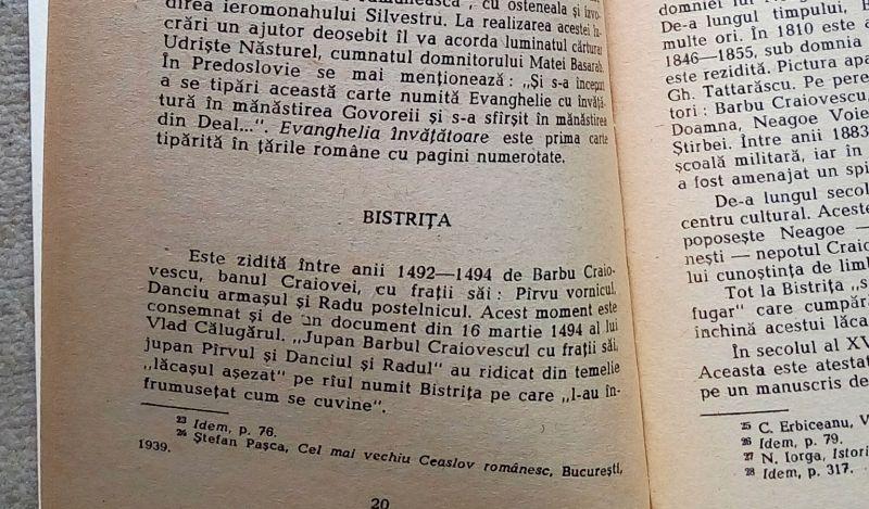 Istoria cartii valcene, Costea Marinoiu, 1981-9