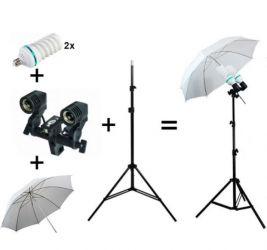 Kit lumini difuzie videochat,foto,vlogg,stream