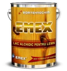 Lac Alchidic Lucios pentru Lemn EMEX