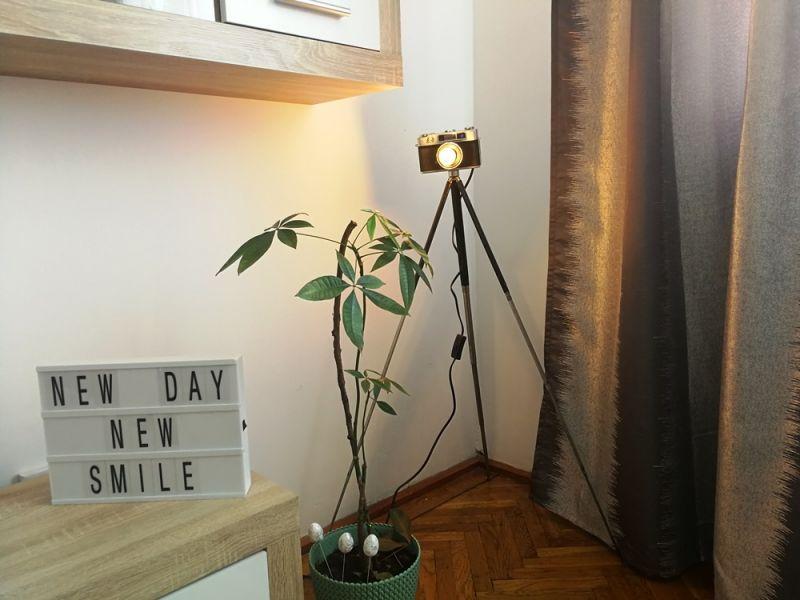 Lampa vintage aparat foto-1