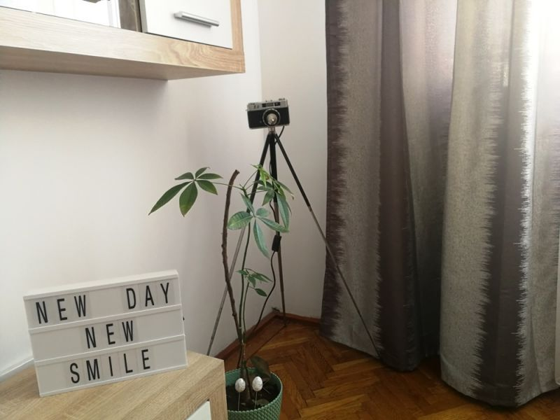 Lampa vintage aparat foto-3