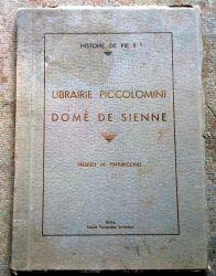 Librairie piccolomini dome de Sienne, 1935