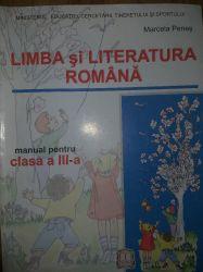 Limba si literatura romana, clasa a III-a , Marcela Penes
