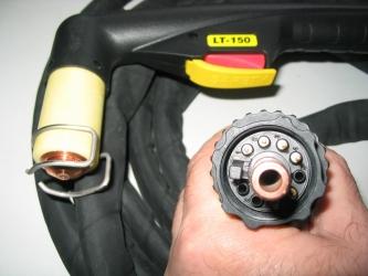 LT 150 pistolet complet de taiere man. cu plasma, furtun de 6 m, C.C