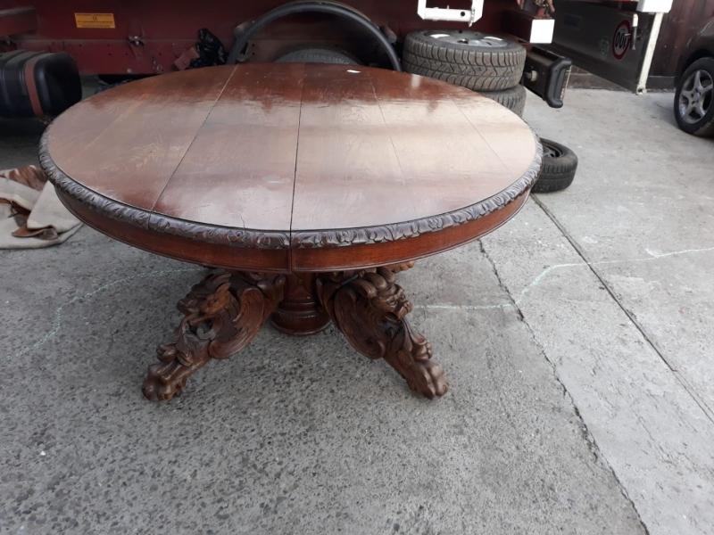 Masa din lemn masiv antica-1