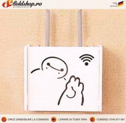 Masca pentru router wi-fi cod:MW-3 HELLO