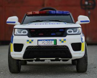 Masinuta electrica de politie pentru copii JC002 12V 90W