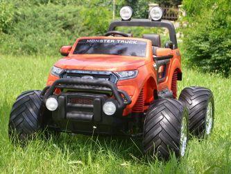 Masinuta electrica Ford Monster Truck 4x4 180W 12V 14Ah cu Mp4