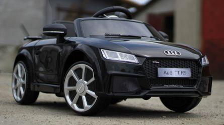 Mașinuta electrică pentru copii Audi TT RS 2x 25W 12V