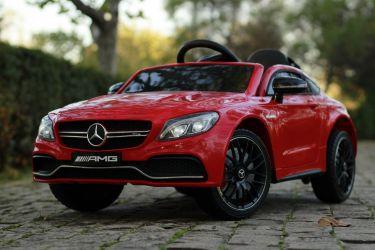 Masinuta electrica pentru copii Mercedes C63 70W 12V AMG