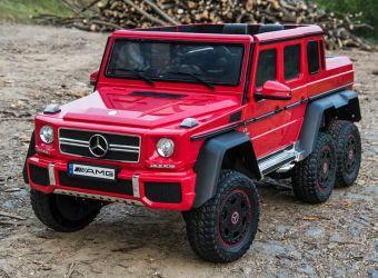Masinuta electrica pentru copii Mercedes G63 6x6 Premium 180W