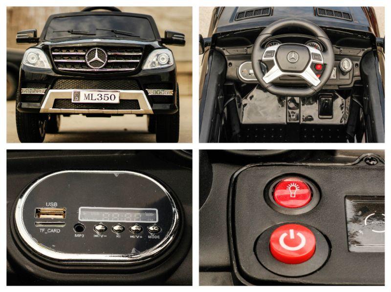 Masinuta electrica pentru copii Mercedes ML350 60W 12V-6