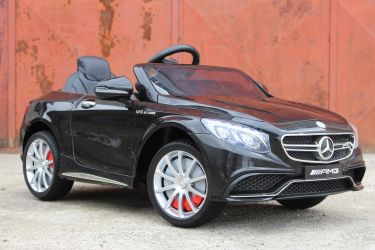 Masinuta electrica pentru copii Mercedes S63 AMG 90W 12V