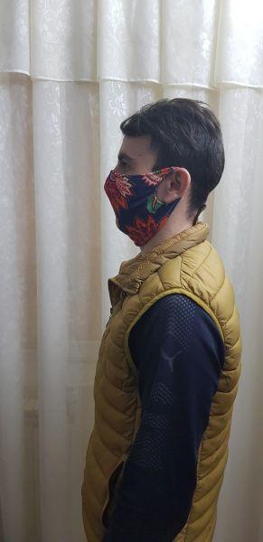 Masti textile refolosibile prin spalare pentru protectia fetei-4