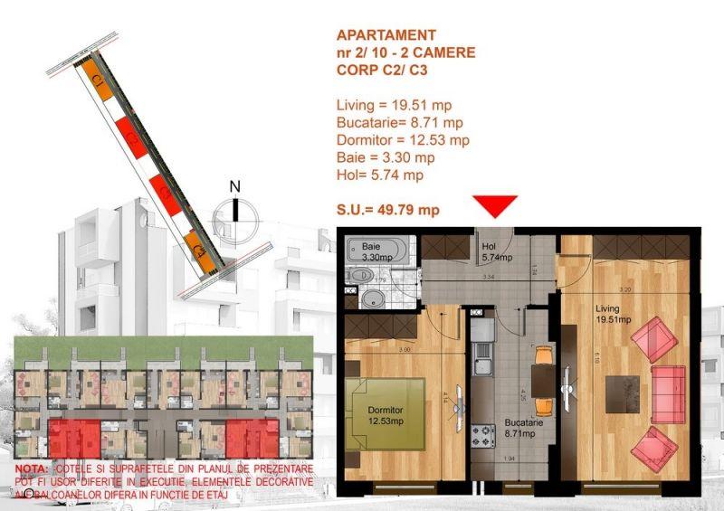 Metrou Berceni, apartament decomandat, 2020-1