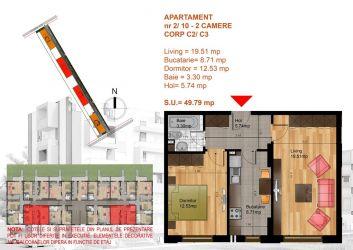 Metrou Berceni, apartament decomandat, 2020