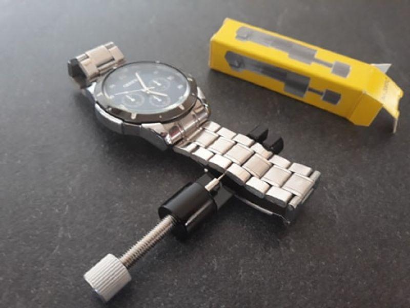 Mini aparat reparat ceasuri de mana , aparat negru desfacut zale-1
