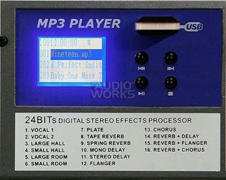 MIXER PROFESIONAL CU Mp3 ALTO-2
