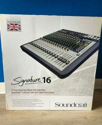 Mixer Saundcraft signature16