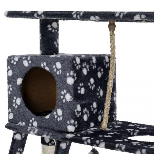 Mobila pisici - Sisal pisici Ducesa, 70 x 35 x 141 cm, MDF/poliester-3